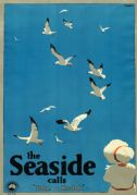 The Seaside Calls, Melbourne, Australia. Vintage Travel Poster by Percy Trompf